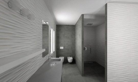 bagno wall 3d -