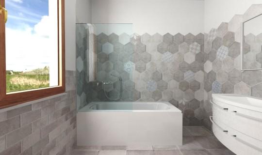 Progettazione di un bagno con la serie New Orleans, ceramica Cir